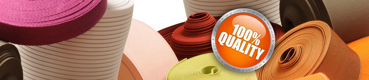 Elastic webbing manufacturer